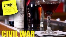 Manhattan Mondays Civil War  Easy Bourbon Cocktail