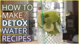 Cucumber And Green Apple Detox Water Recipe