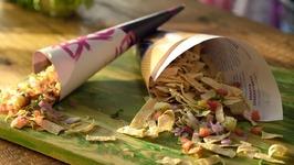 Papad Bhel Recipe  How to Make Papad Bhel