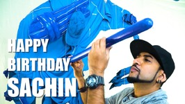 Mad Stuff With Rob - Tribute to Sachin by Zeven and Rob  Happy Birthday Sachin