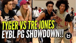 Tre Jones Vs Tyger Campbell Elite Pg Showdown At Nike Eybl - Brother Of Tyus Jones