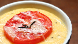Polenta with Tomatoes and Savory