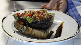 Amazing Stuffed Grilled Eggplant