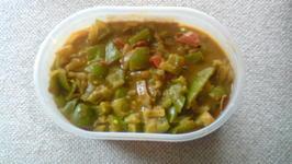 Green Pepper Masala
