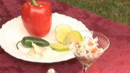 Shrimp and Pilsner Ceviche