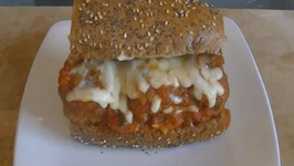 Mozzarella Stuffed Meatball Marinara Sub