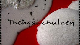 Thengai Chutney - 1