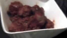 Savory Meatballs in Brandy Sauce - Tapas