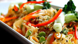 Thai Tamari Rice Noodle Salad (Gluten-Free)