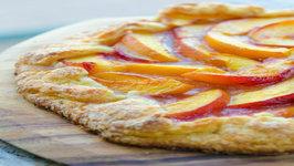 Fresh Peach Crostata Rustic Peach Tart