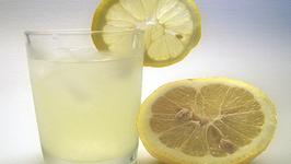 Homemade Organic Lemonade
