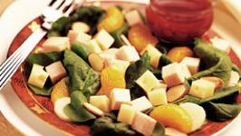 Oriental Turkey and Swiss Salad