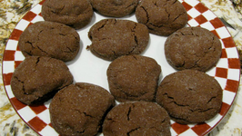 Cheryls Home Cooking - Christmas Cracked Chocolate Chip Cookies