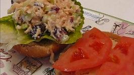 Betty's Cranberry Almond Chicken Salad Sandwich