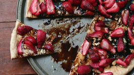 Strawberry-Balsamic Tart