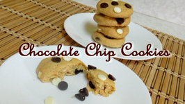 5-Minute Chocolate Chip Cookies- Eggless
