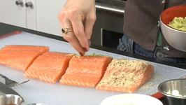 Cooking For Bachelors Salmon With Two Breadcrumbs