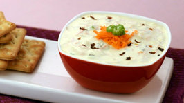 Veg Cream Cheese Dip by Tarla Dalal