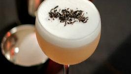 Montelobos Smoked Tea Sour Cocktail