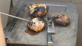 BBQ Chicken - Weber Grill Summit s670