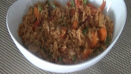 Take Out Style Veg Fried Rice (Quick Meal Ideas)