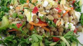 Unique Lentil Salad
