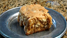 White Chocolate Macadamia Nut Brownies