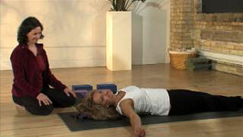 Supported Back Bend Yoga Pose