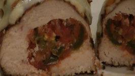 Ranchero Salsa Stuffed Chicken Breast