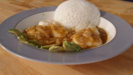 Thai Jumbo Scallops With Massaman Curry Sauce