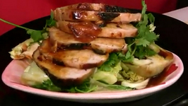 Baked Pork Loin Marinated in Soy Sauce