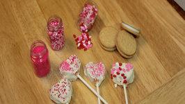 Valentine's Day No Bake Cookies