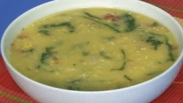 Corn and Dal Soup