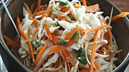 Asian Cole Slaw - Vegan