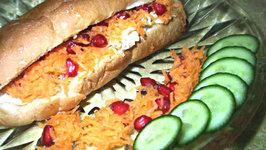 Chicken Roll in Hot Dog Bun