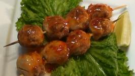Asian Style Pork Meatballs