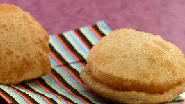 Puri (How to Make Poori) by Tarla Dalal