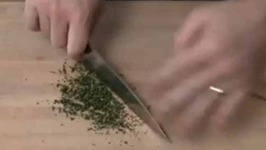 How to Chop Thyme and Rosemary