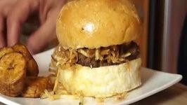 Cuban Hamburger (Frita Cubana)