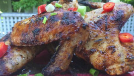 Chicken Wings Collaboration - Mediterranean Grilled Chicken Wings