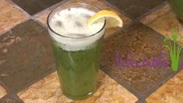 Lemonade with Mint Leaves