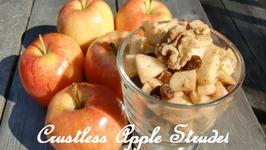 Crustless Apple Strudel