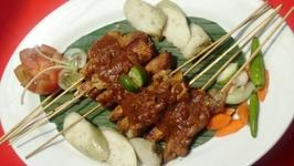 Beef or Chicken Satay