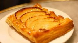 Caramelized Apple Wafer