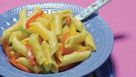 Cheesy Vegetable Pasta