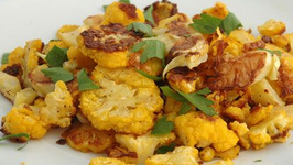 Healthy Roasted Cauliflower