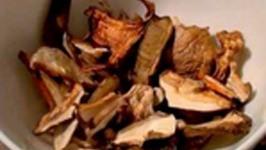 Crispy Pork Scaloppini with Wild Mushroom Sauce