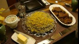Persian Shevid Baghali Polow Ba Goosht-E