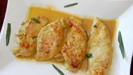Chicken Drunk On Cognac on www.SimplyDeliciousLiving.tv