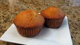White Chocolate and Orange Muffins